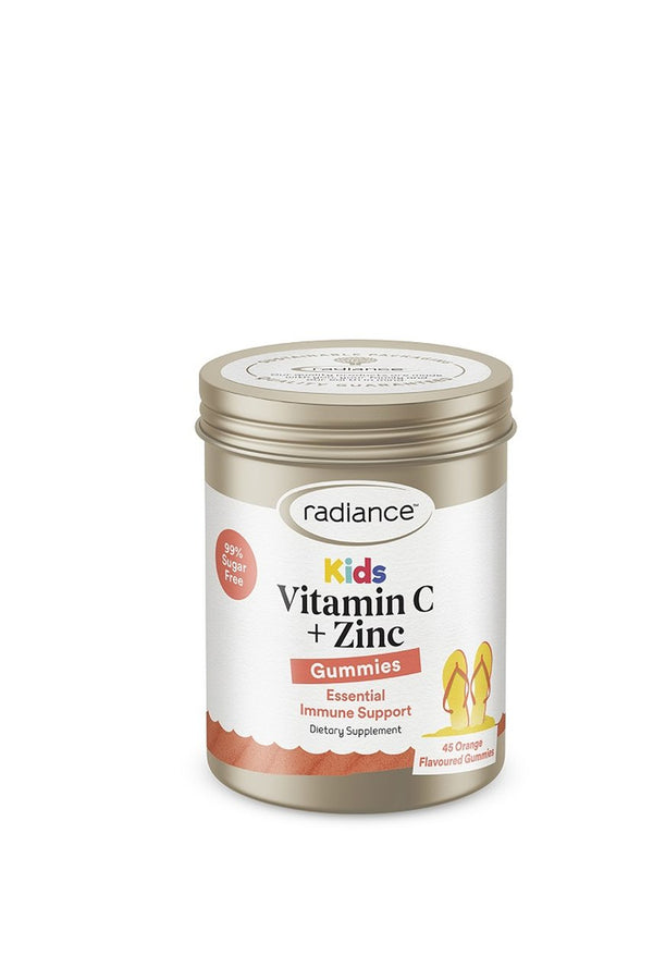RADIANCE Kids Gummies Vit C&Zinc 45