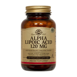 SOLGAR Alpha Lipoic Acid 120mg 60