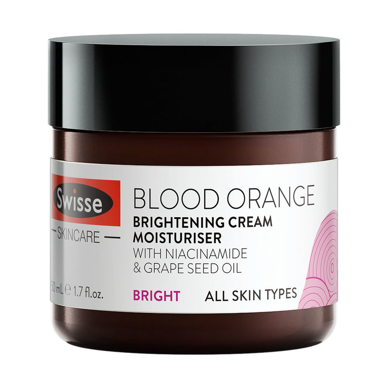 SWISSE Blood Orange Brightening Cream Moisturiser 70g