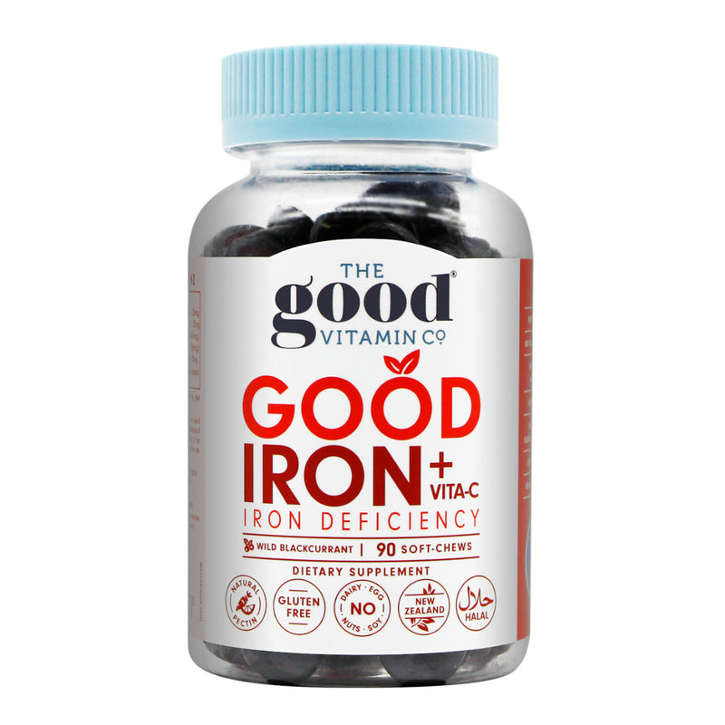 GVC Good Iron+Vita-C 90s