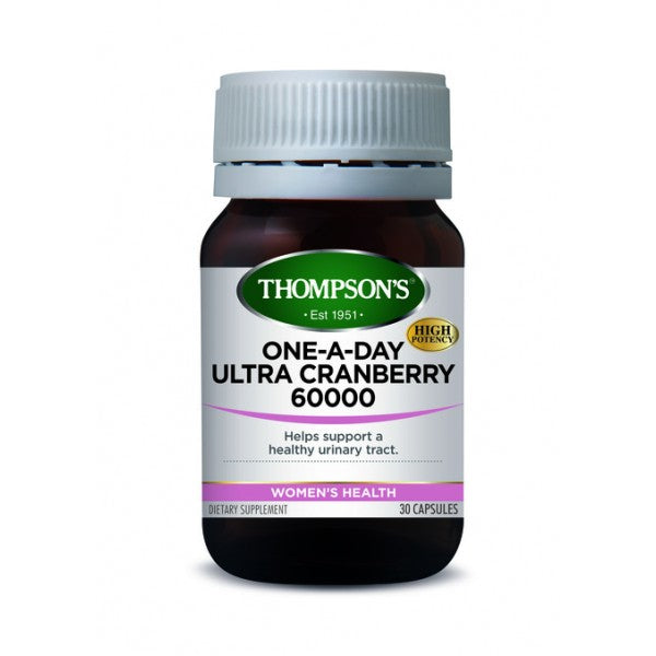 Thompsons Ultra Cranberry 60000mg One-A-Day 30caps
