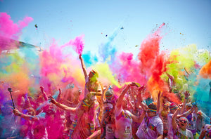 Why Not Add Some Colour into Your Run