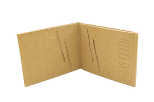 Mens Vegan  Wallet (Camel Brown)