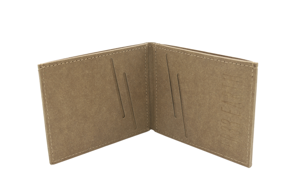 Mens Vegan  Wallet (Stone Brown)