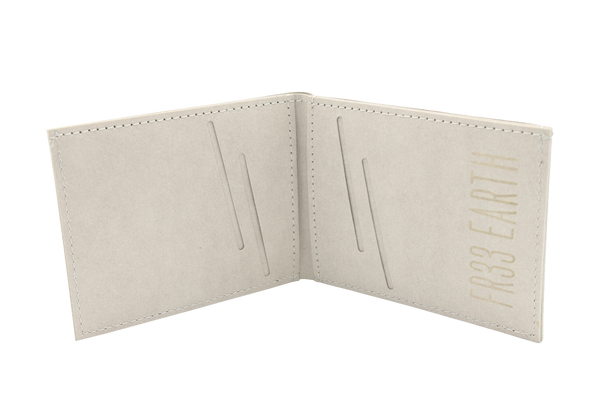 Mens Vegan  Wallet (Stone Gray)