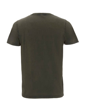 Mens Organic Cotton T Shirt(STONE GREEN)