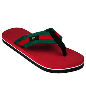 Premium Red Green & Black Thongs