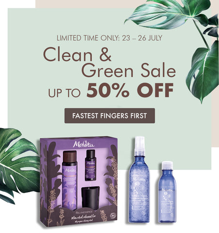 Clean and Green Sale Mobile Banner