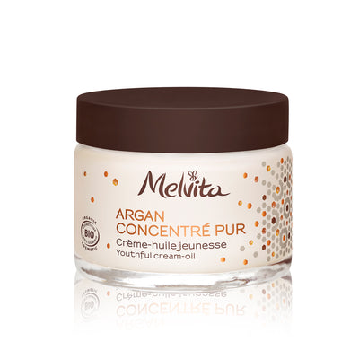 Melvita Face Care Argan Concentrate Pur Youthful Cream-Oil