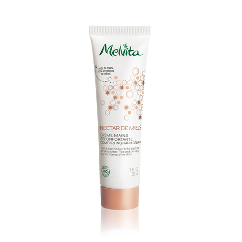 Melvita Singapore Organic Clean Beauty Nectar De Miels Comforting Hand Cream 30ml