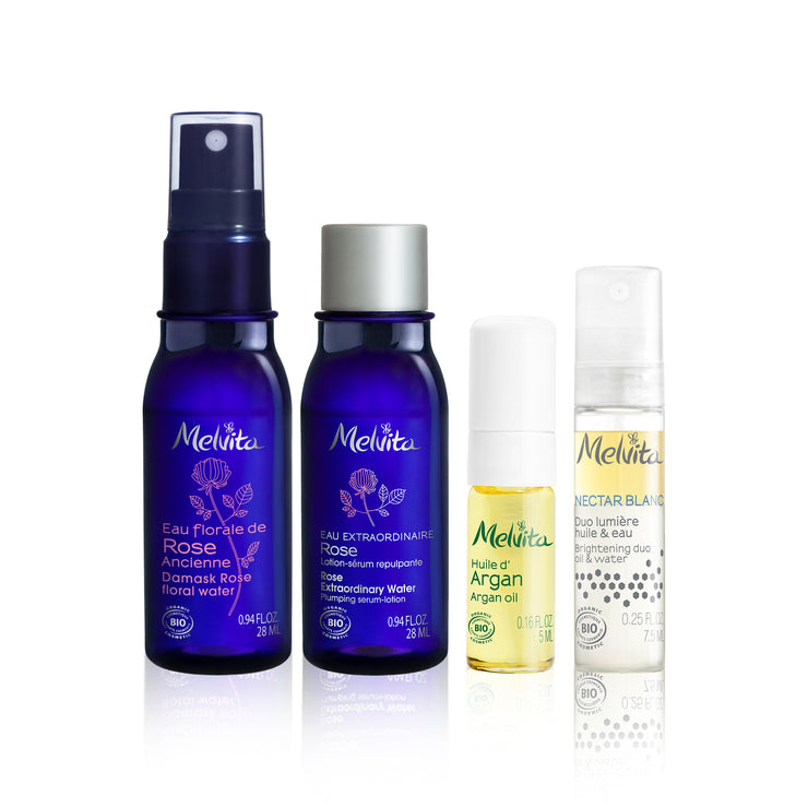 Melvita Face Care Healthy + Bright Discovery Kit