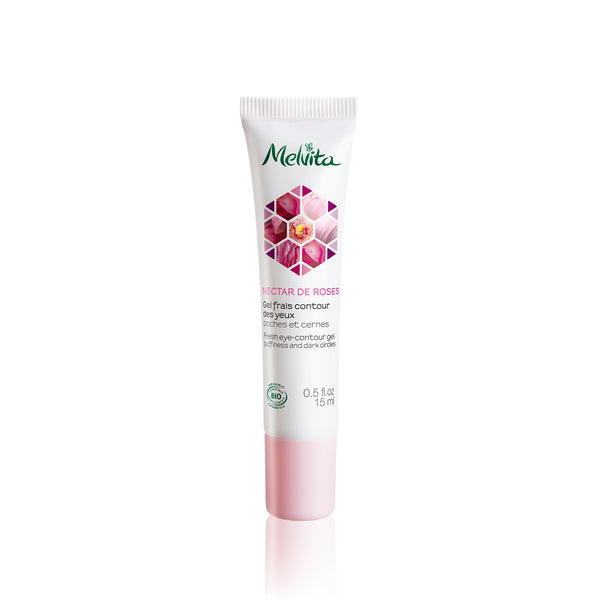 Melvita Eye Care Nectar De Roses Fresh Eye Contour Gel