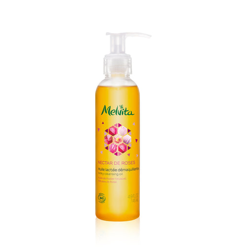 Melvita Face Care Nectar De Roses Milky Cleansing Oil