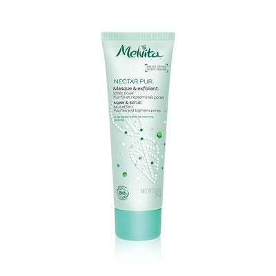 Melvita Face Care Nectar Pur Mask & Scrub