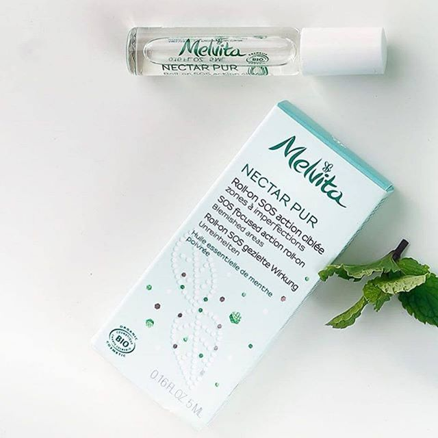 Melvita Face Care Nectar Pur Purifying Roll-on SOS Packaging