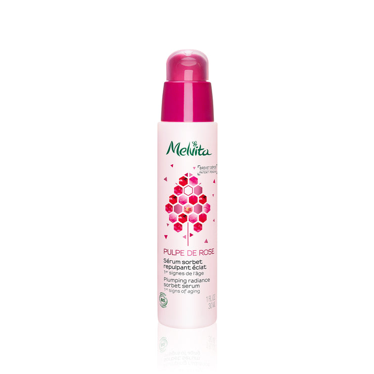 Melvita Face Care Pulpe De Rose Plumping Radiance Sorbet Serum