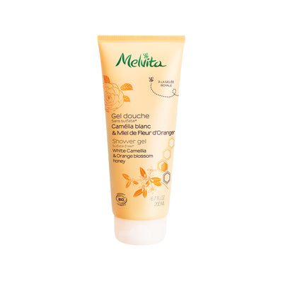 Melvita Body Care White Camellia & Orange Blossom Shower Cream