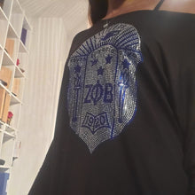 Load image into Gallery viewer, Wear anyway bling shield tee