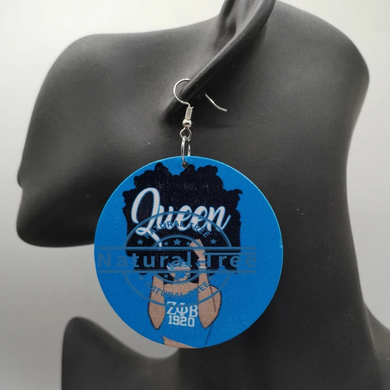 Zeta queen earrings
