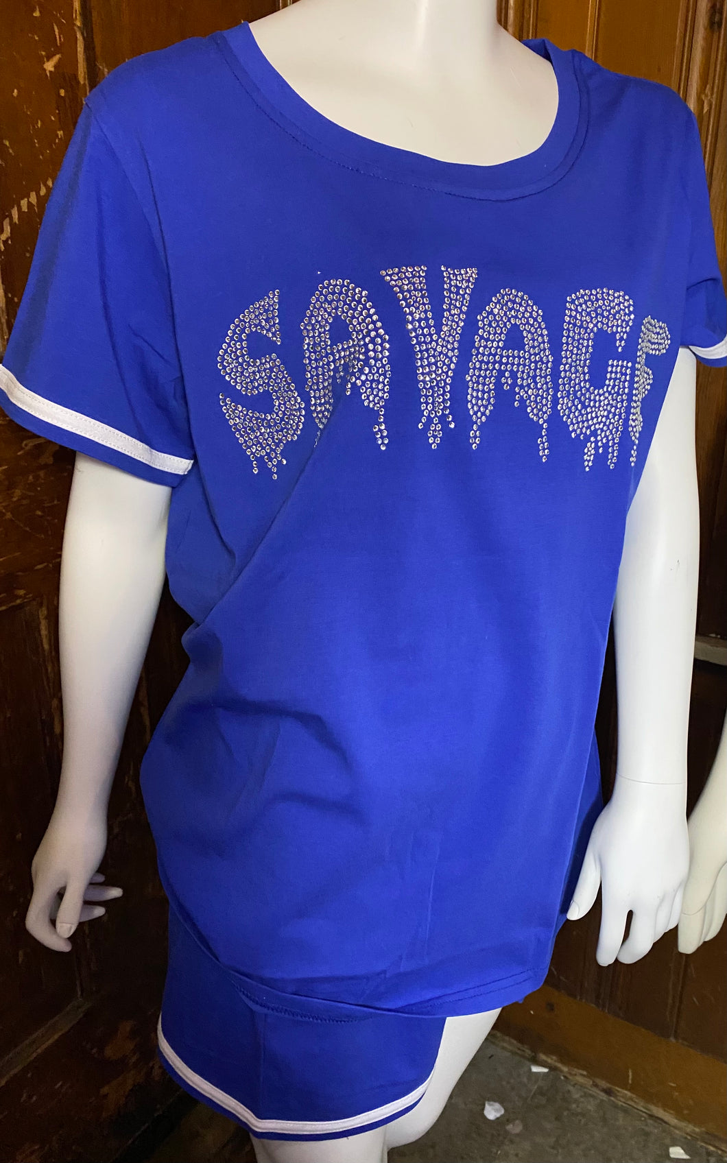 Savage bling Lounge set