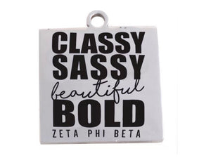Zeta Classy charm with necklace