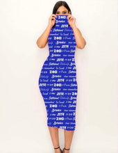 Load image into Gallery viewer, Nationally Approved Zeta word art dress