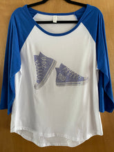 Load image into Gallery viewer, 3/4 bling Zeta baseball tshirt