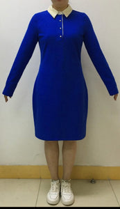 Pre-launch Zeta shield dress with removable pearl collar