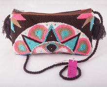 Load image into Gallery viewer, Embellished Wayuu clutch - Kate Diaz