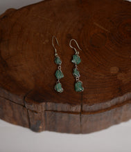 Load image into Gallery viewer, Raw emeralds earrings - Kate Diaz