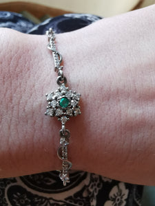 Emeralds zirconia  bracelet - Kate Diaz
