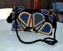 Load image into Gallery viewer, Embellished Wayuu clutch