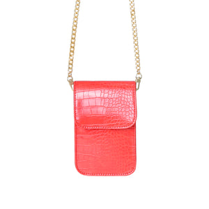 Bag Croco On Me (Red, Green, Black)