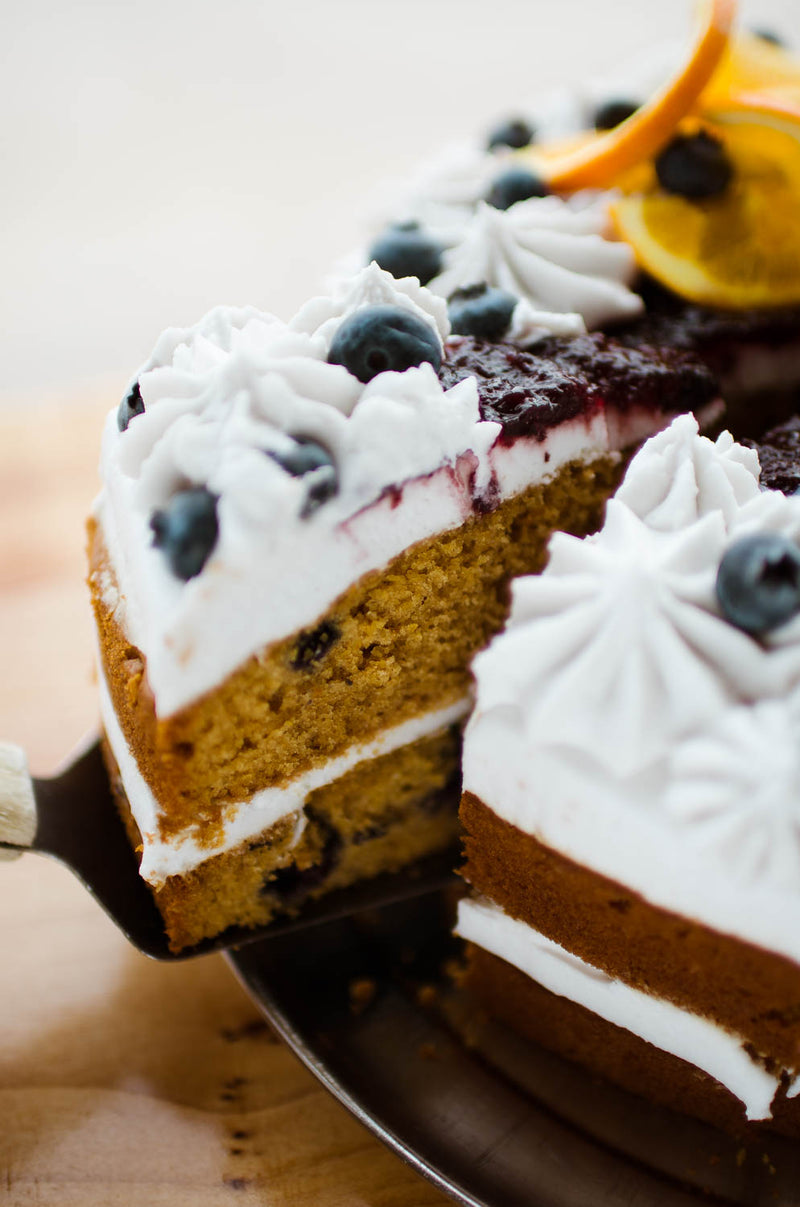 Vegan Orange Blueberry Cake (preorder)