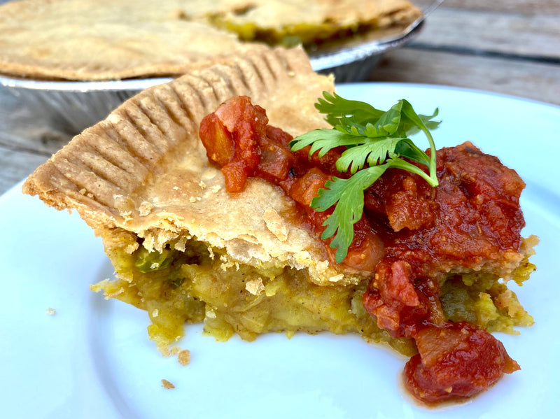 Samosa Pie with Tamarind Sauce (frozen)