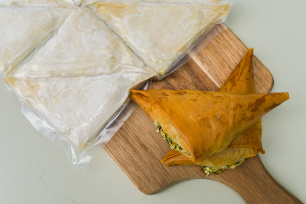 Spanakopita (frozen package)
