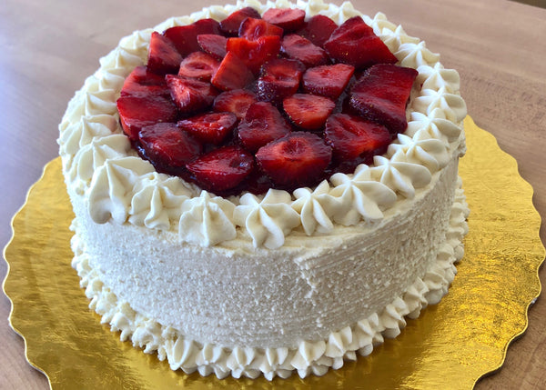 Strawberry Orange Cake