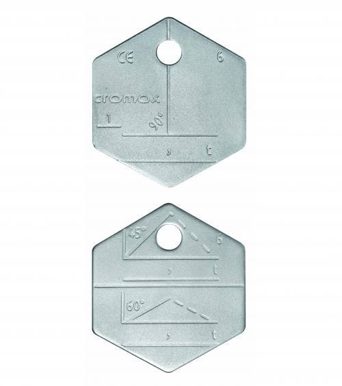 cromox Stainless Steel Identification Tags CA - Towne Lifting & Testing