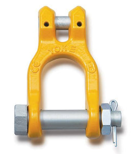 Yoke Grade 8 Clevis Shackle BS EN 1677-1+2 - Towne Lifting & Testing