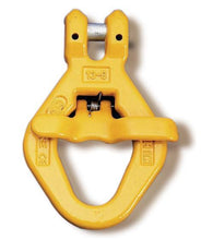 Load image into Gallery viewer, Yoke Grade 8 Clevis Skip Hook with Spring Gate BS EN 1677-1+2 - Towne Lifting & Testing