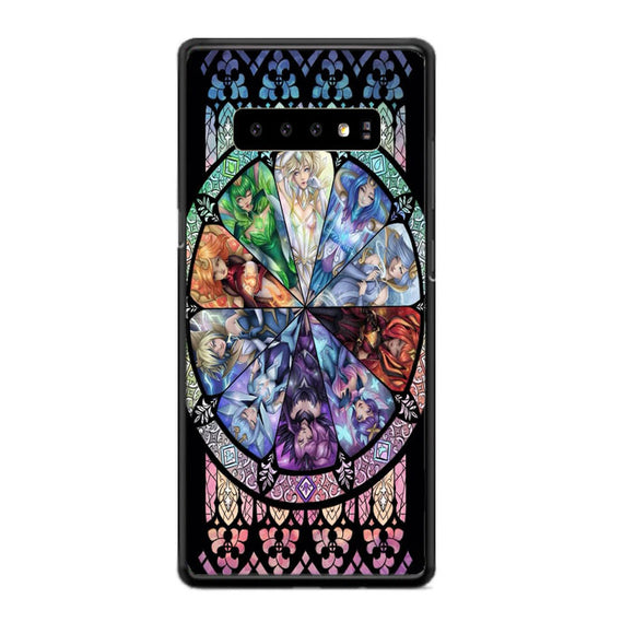 10 Elementalist Lux Lol Stained Glasses Art Samsung Galaxy S10e Case | Babycasee