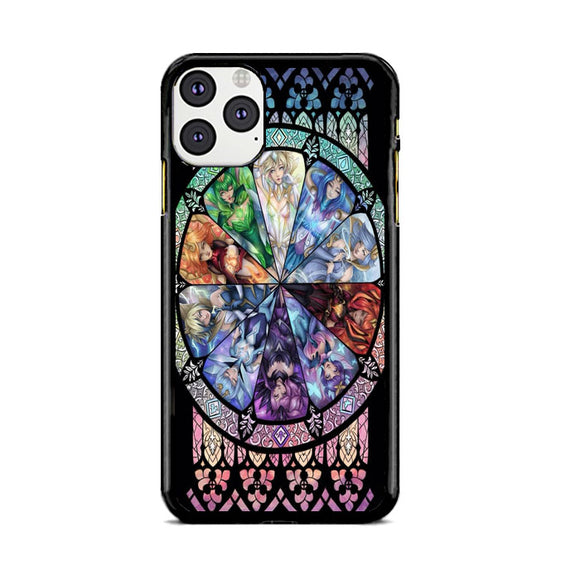 10 Elementalist Lux Lol Stained Glasses Art iPhone 11 Pro Max Case | Babycasee