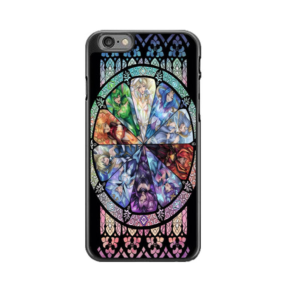 10 Elementalist Lux Lol Stained Glasses Art iPhone 6 Plus|6S Plus Case | Babycasee
