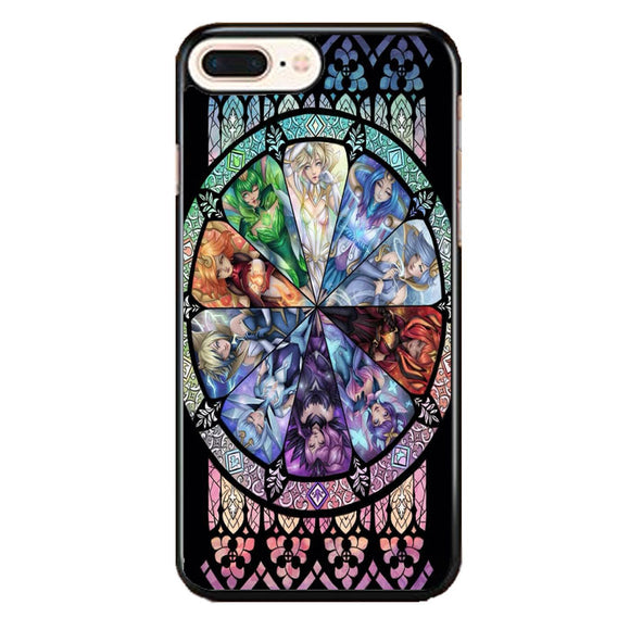 10 Elementalist Lux Lol Stained Glasses Art iPhone 7 Plus Case | Babycasee