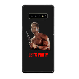 Arnold Schwarzenegger Commando Lets Party Samsung Galaxy S10e Case | Babycasee