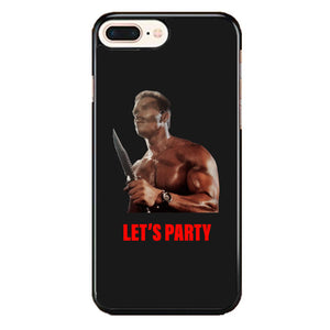 Arnold Schwarzenegger Commando Lets Party iPhone 7 Plus Case | Babycasee