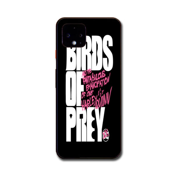 Birds Of Prey Wallpaper Google Pixel 4 XL Case | Babycasee