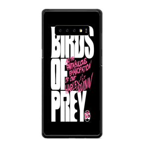 Birds Of Prey Wallpaper Samsung Galaxy S10 Plus Case | Babycasee