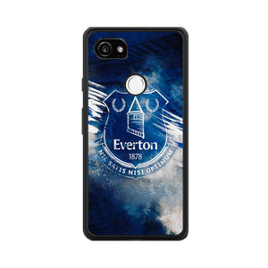 Blue Everton Splat Color Wallpaper Google Pixel 2 Case | Babycasee