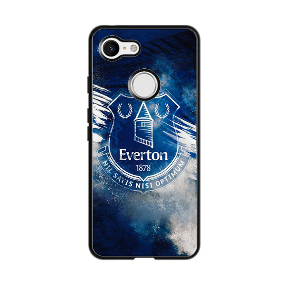 Blue Everton Splat Color Wallpaper Google Pixel 3 Case | Babycasee